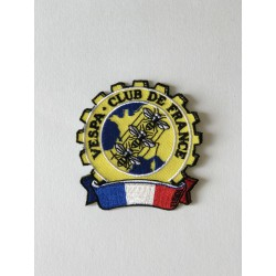 Ecusson brodé Vespa Club de France