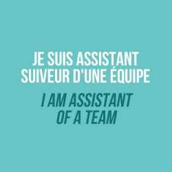 Audax - I am assistant of a team